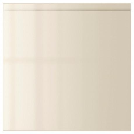 Дверь ВОКСТОРП глянцевый светло-бежевый фото 1