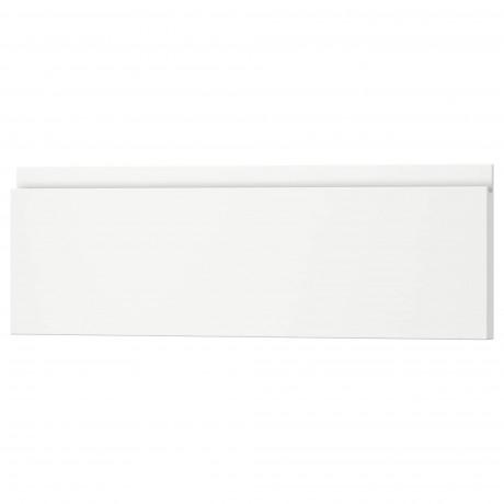 Фронтальная панель ящика ВОКСТОРП матовый белый белый фото 0