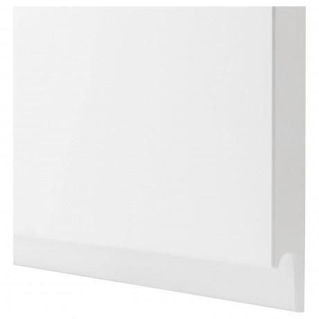 Дверца д/напольн углового шк, 2шт ВОКСТОРП правосторонний матовый белый белый фото 1