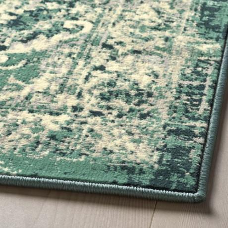 Ковер, короткий ворс ВОНСБЭК зеленый фото 1