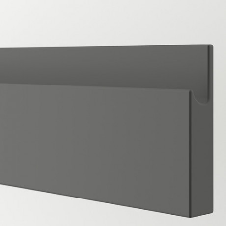 Фронтальная панель ящика ВОКСТОРП темно-серый фото 1