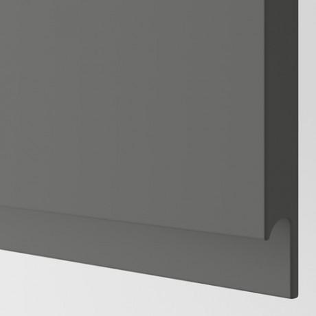 Дверь ВОКСТОРП темно-серый фото 1