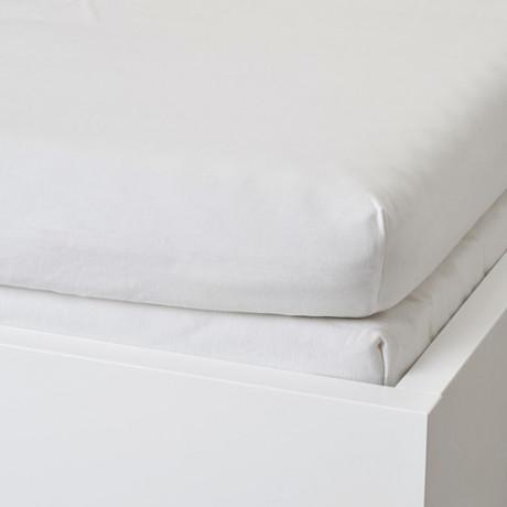Натяжная простыня для кушетки ВОРВИАЛ белый фото 1
