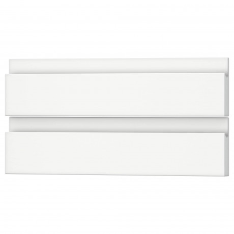 Фронтальная панель ящика ВОКСТОРП матовый белый белый фото 11