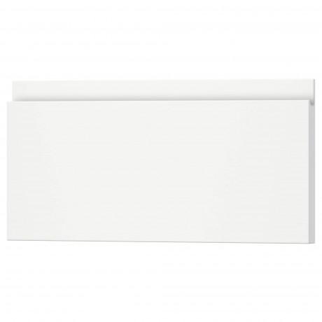 Фронтальная панель ящика ВОКСТОРП матовый белый белый фото 10