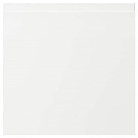 Фронтальная панель ящика ВОКСТОРП матовый белый белый фото 6