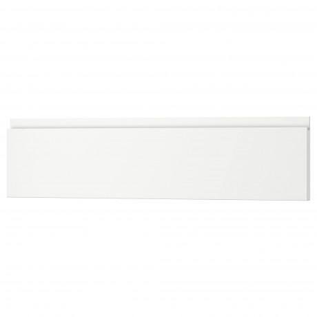 Фронтальная панель ящика ВОКСТОРП матовый белый белый фото 5