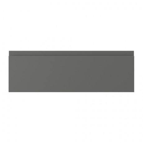 Фронтальная панель ящика ВОКСТОРП темно-серый фото 4