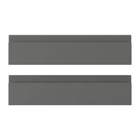 Фронтальная панель ящика ВОКСТОРП темно-серый фото 3