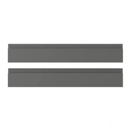 Фронтальная панель ящика ВОКСТОРП темно-серый фото 6