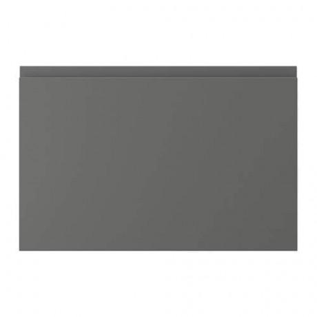 Фронтальная панель ящика ВОКСТОРП темно-серый фото 9