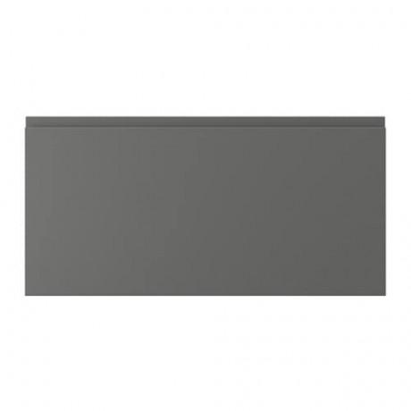 Фронтальная панель ящика ВОКСТОРП темно-серый фото 10