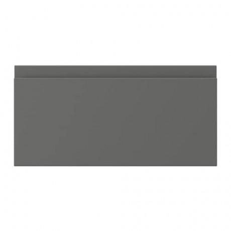 Фронтальная панель ящика ВОКСТОРП темно-серый фото 11