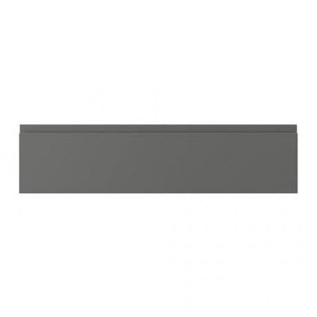 Фронтальная панель ящика ВОКСТОРП темно-серый фото 5