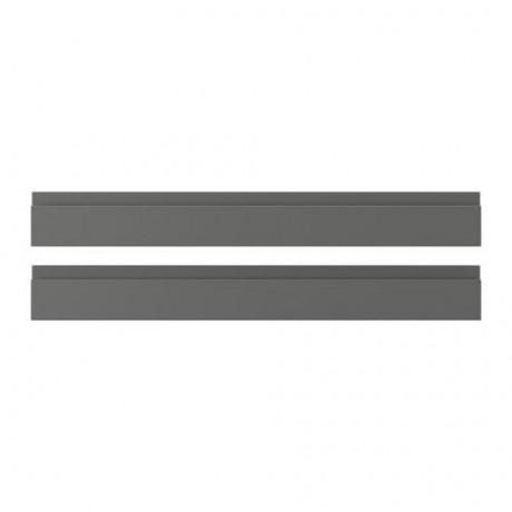 Фронтальная панель ящика ВОКСТОРП темно-серый фото 8
